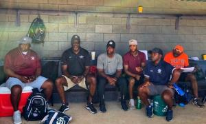 HBCU Baseball showcase Coaches evaluating talent