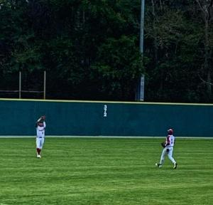 Tuskegee Morehouse Baseball Fly Ball Out In Left