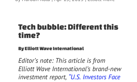 Tech bubble: Different this time?