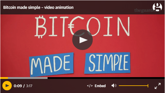 Bitcoin Made Simple A Guardian Video