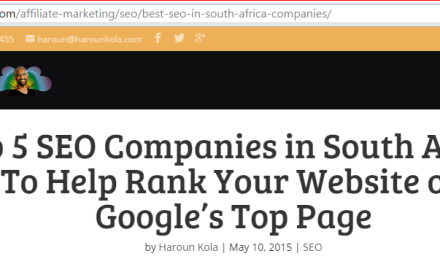 Top 5 SEO Companies in South Africa To Help Rank Your Website on Google's Top Page