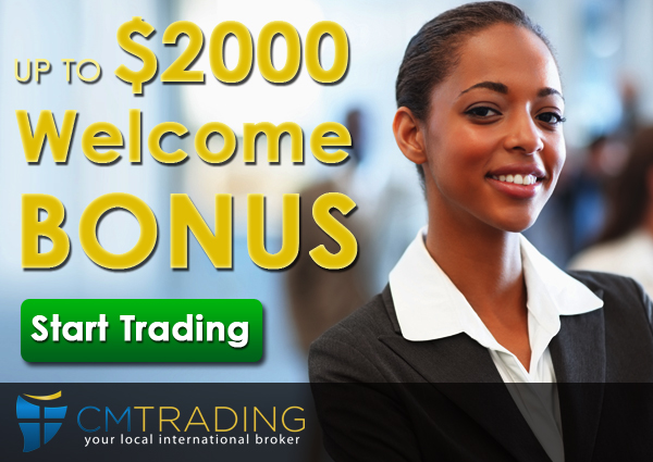 CMTrading Welcome Bonus