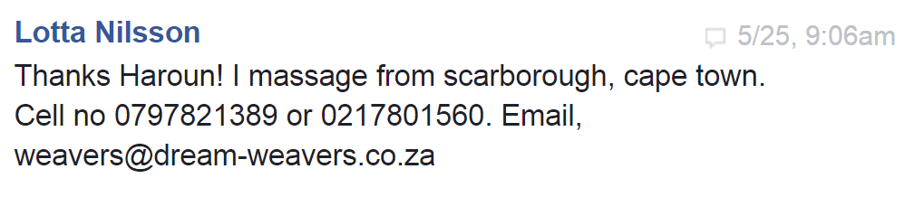 KaHuna Massage in Scarborough Cape Town