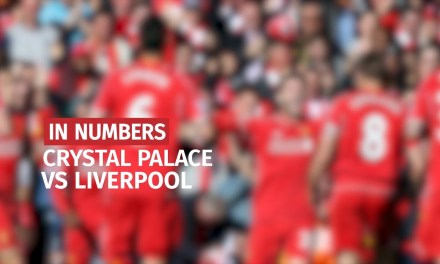 Crystal Palace vs Liverpool In Numbers