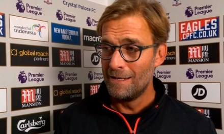 Jurgen Klopp post-match reaction. Crystal Palace 2:4 Liverpool #lfc #CRYLIV