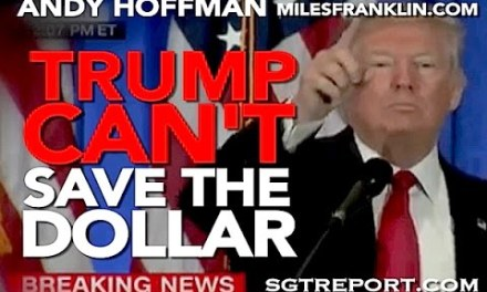 Can Trump Save The Dollar? Andy Hoffman Gives His Views