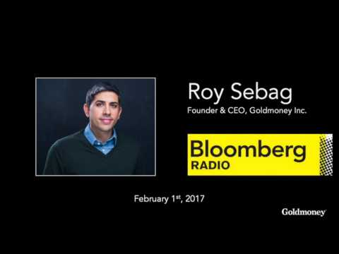 Roy Sebag of Goldmoney on Bloomberg Radio