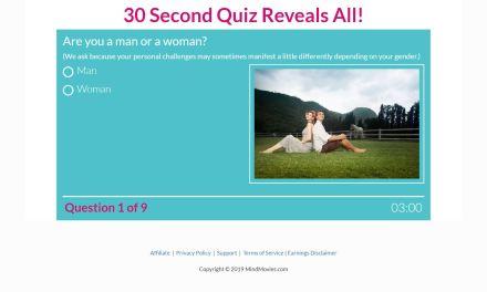 30-Sec success & abundance quiz for the sake of your success