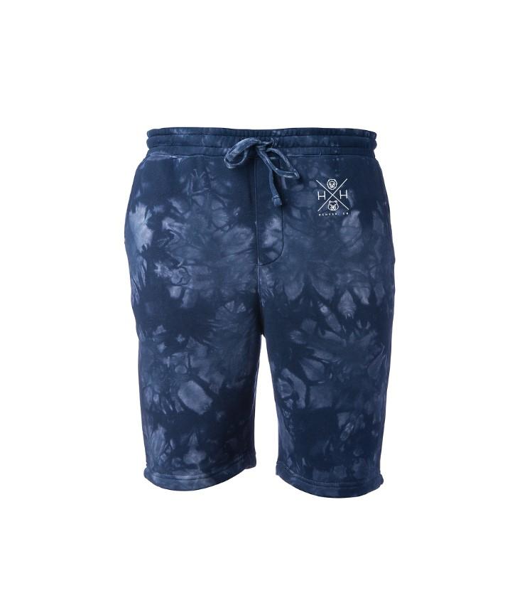 Men's NavyTie Dye Shorts