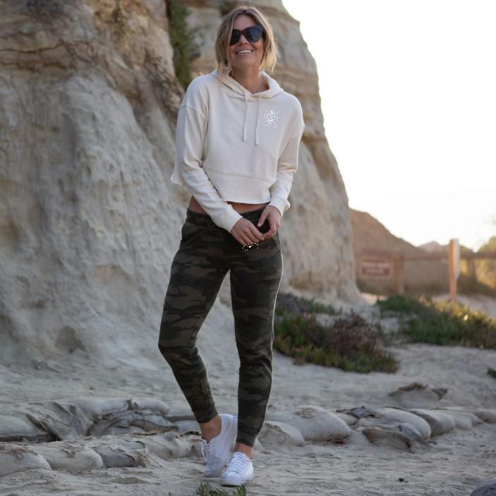 Womens Jogger and Crop Sweatshirt