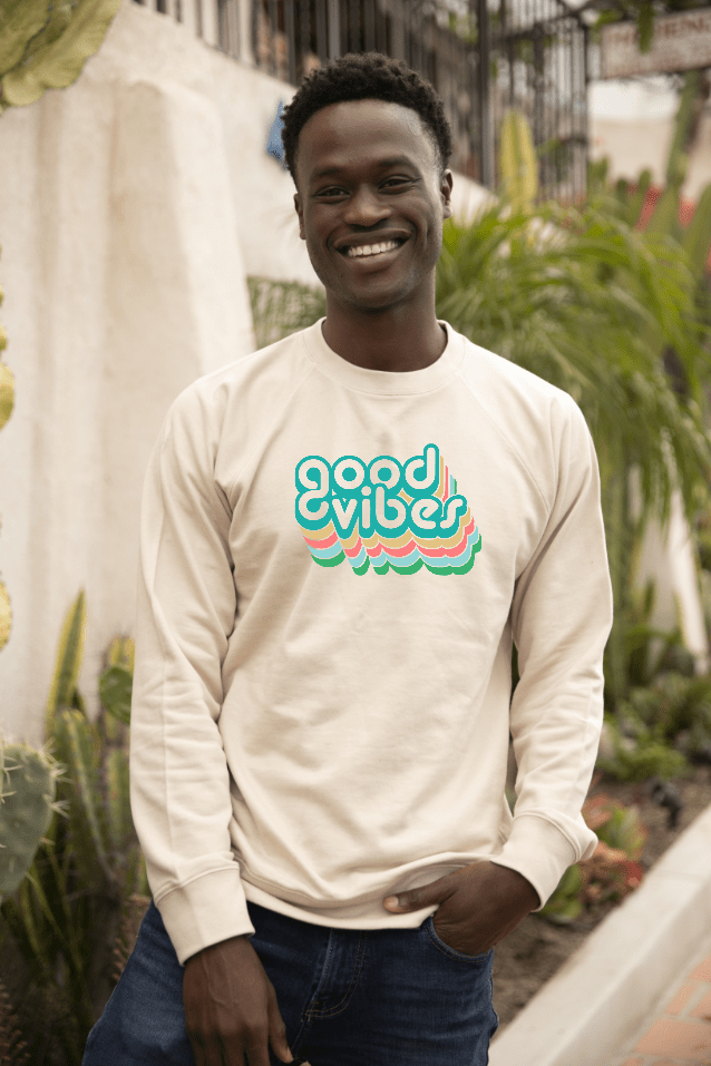 Good Vibes Crew Sweatshirt