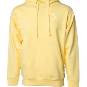 Unisex Light Yellow Hoodie