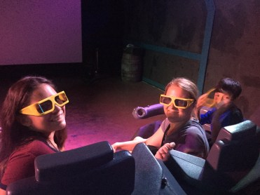 Ready to watch 4D pod racing video.