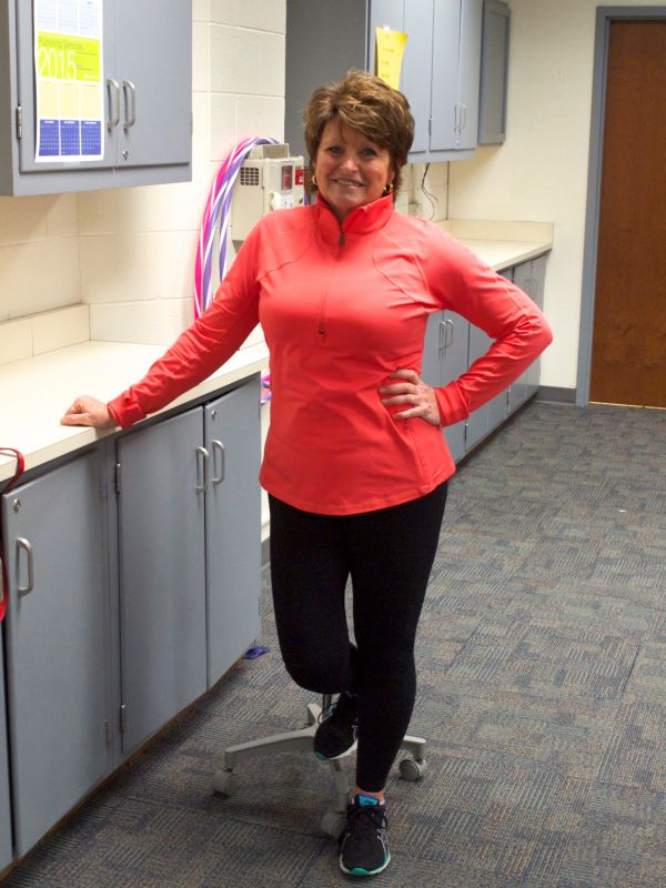 The friendly and knowledgeable program leader, Vickie Scott.