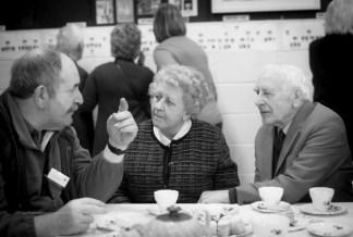 Gordon Harper with Bertha & Leonard Harper