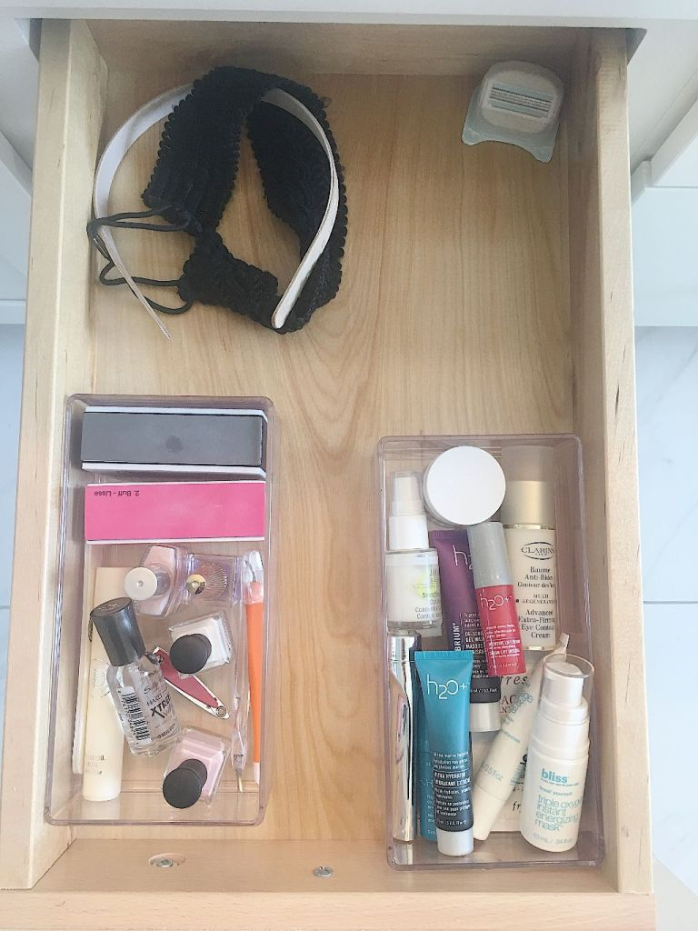 How to organize your master bath drawers in under 30 minutes