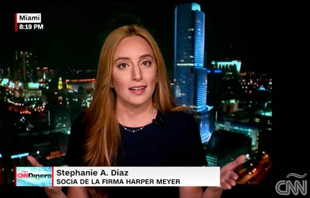 CNN Dinero interviews Stephanie A. Diaz of Harper Meyer in response to President Trump's Tax Reform Plan