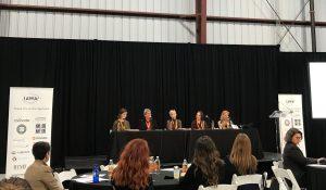 Katie DeLuca on the IAWA panel