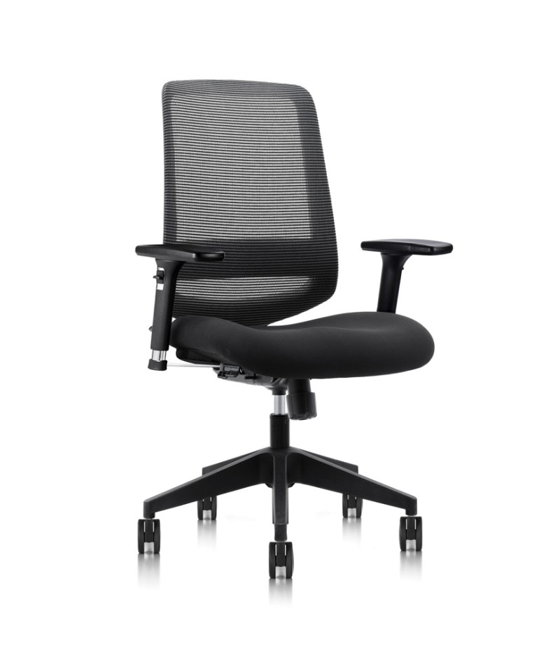 C19 ergonomic chair with fabric seat