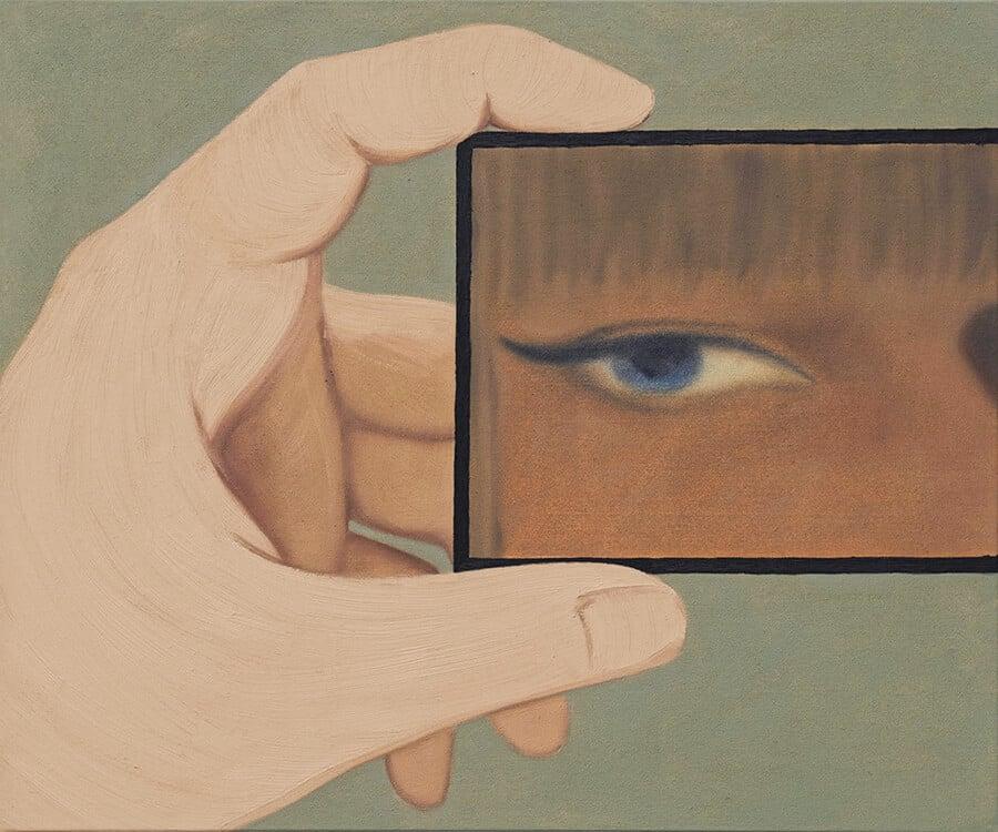 Self-Portrait, by Henni Alftan