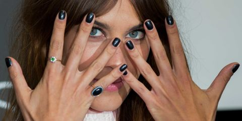 How to fix a broken nail | Alexa Chung manicure