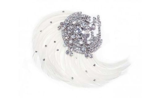 Ivory and Co. crystal hair clip