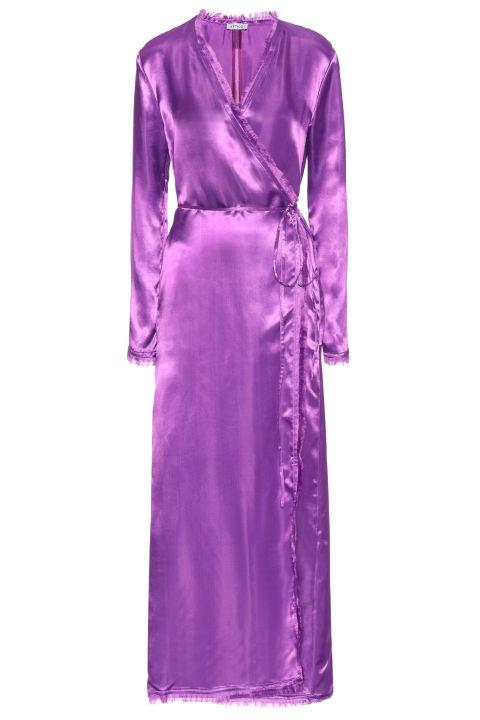 Attico wrap dress