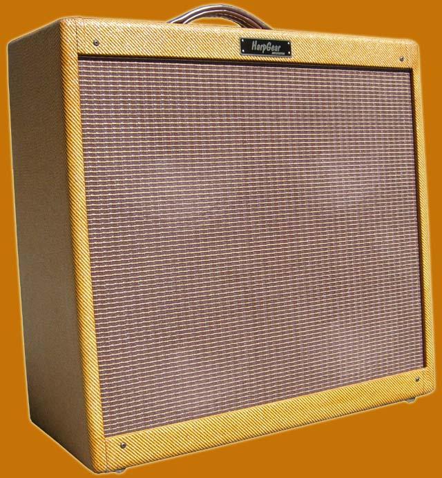Harpgear Hg50 410 Harmonica Combo Amp Brown Vinyl