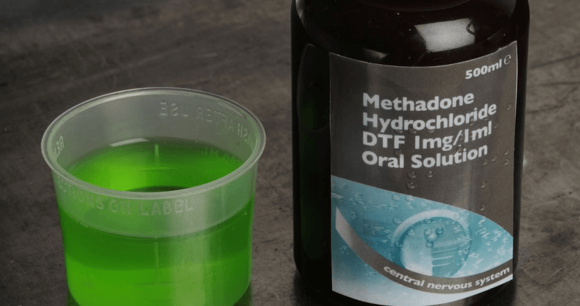 how long does 10mg of methadone stay in your system