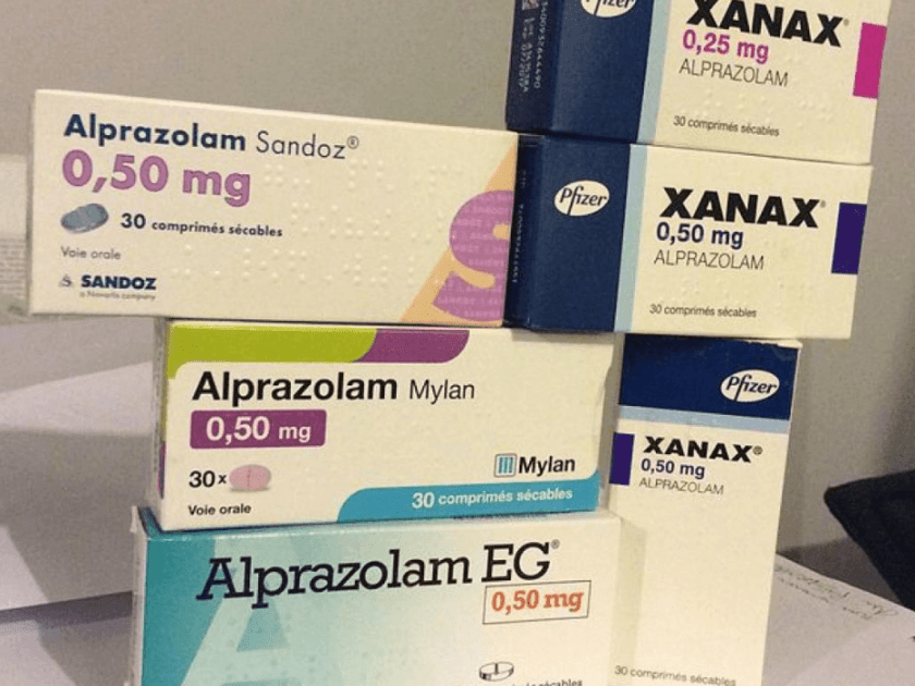 how long does xanax stay in your system for a urine test