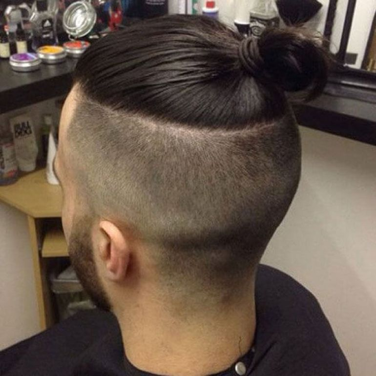 Long Hairstyles for Men - The Top Knot Hairstyle - Harpmagazine.com
