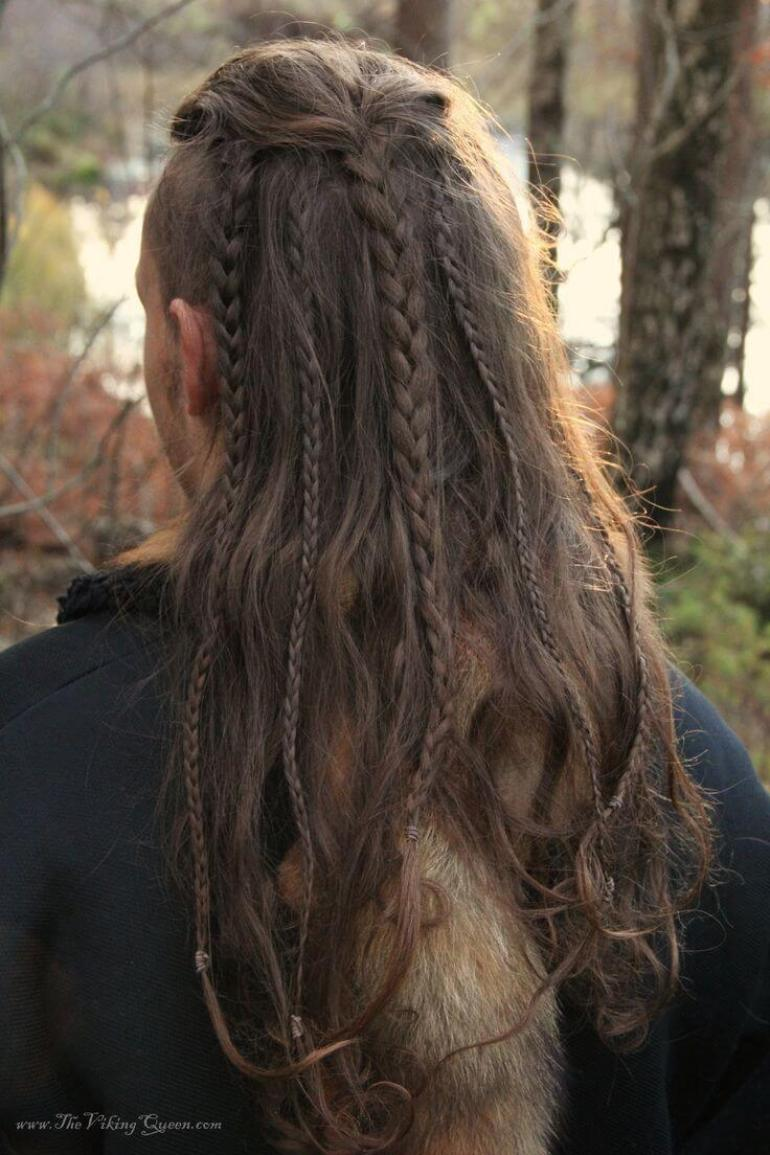Long Hairstyles for Men - Long Braids Men's Hairstyle - Harpmagazine.com