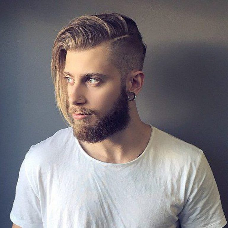Long Hairstyles for Men - Long Undercut Hairstyle - Harpmagazine.com
