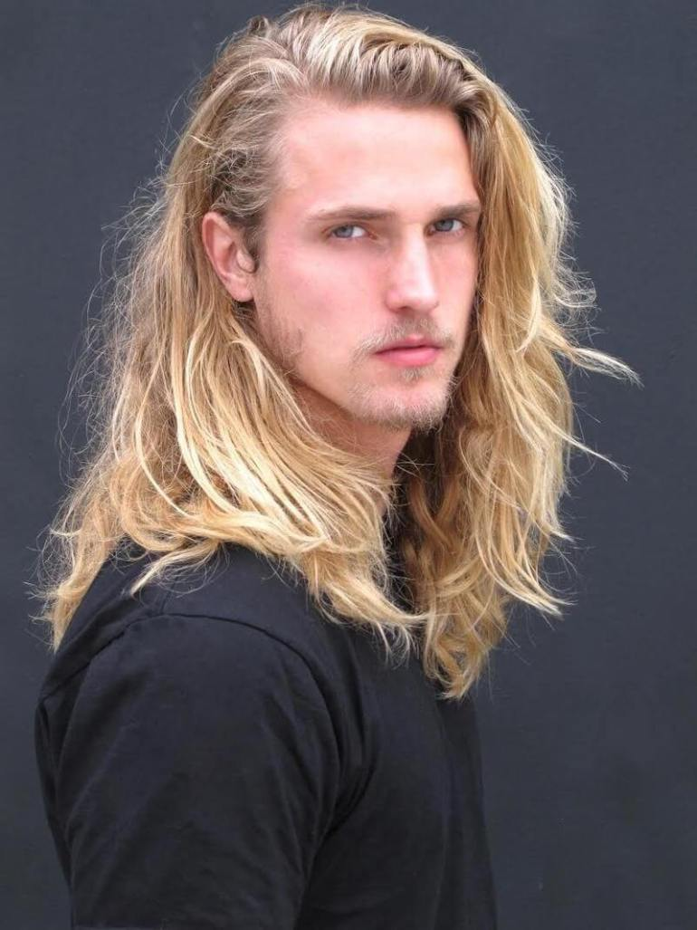 Long Hairstyles for Men - Long Hairstyle For Blonde - Harpmagazine.com
