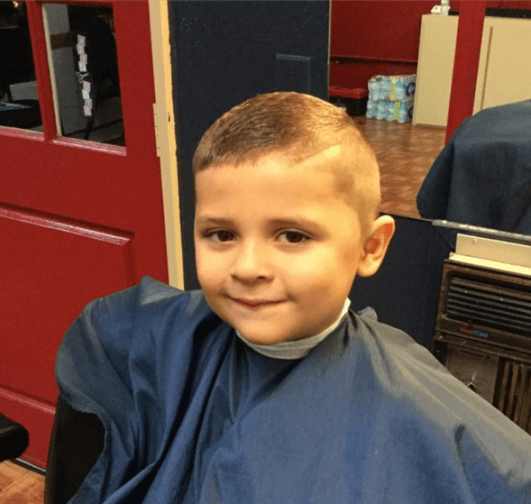 Long Buzz Cut Kids Hairstyles