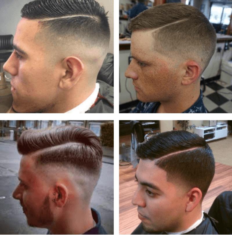 Military Regulation Haircut Styles