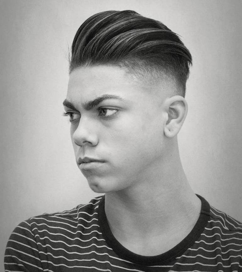 Slicked Back Undercut 18