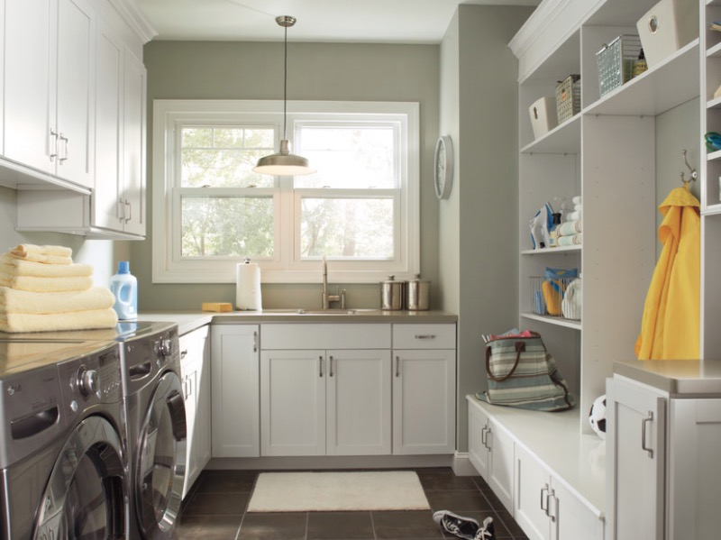 1 Incorporate Plenty Of Storage Laundry Room Ideas