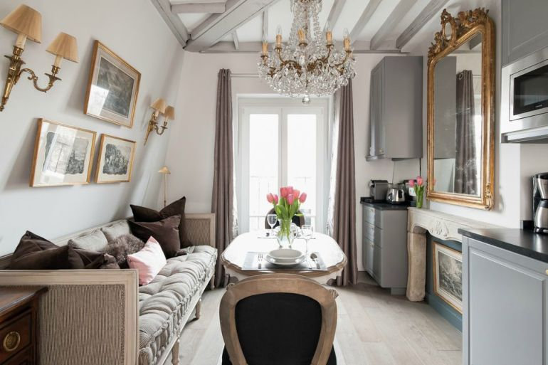 Decorate Like The French Small Living Room Ideas