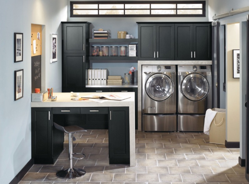 Small Laundry Room Ideas - Mount Your Washer and Dryer Creatively