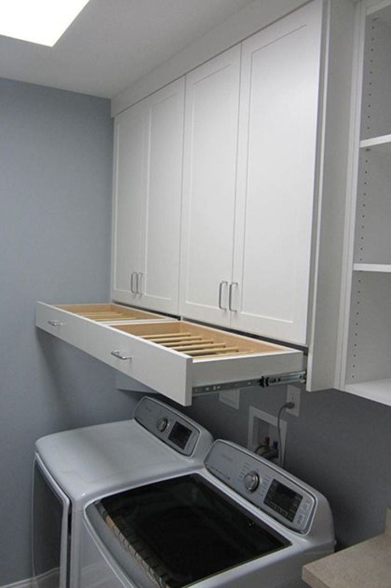 Drying Rack Drawer Laundry Room Ideas