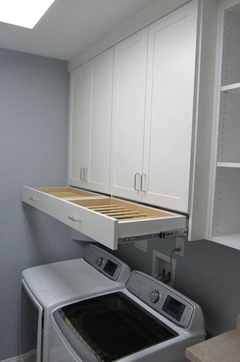 Drying Rack Drawer Laundry Room Ideas