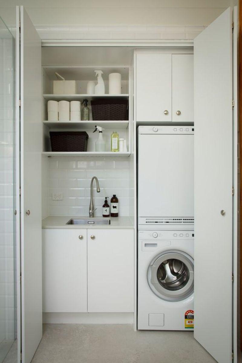 Laundry Closet Small Laundry Room Design