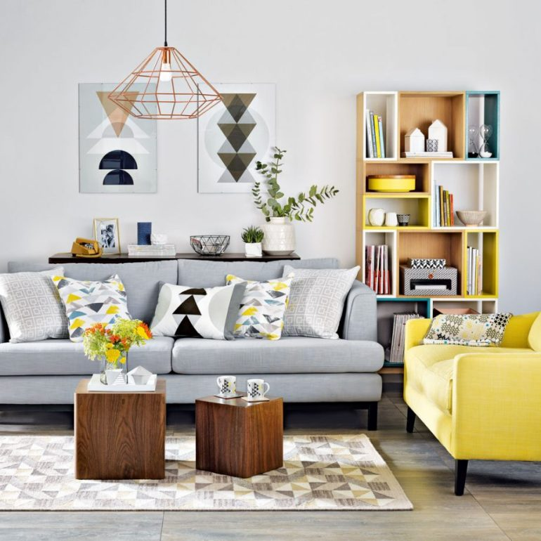 Small Living Room Decorating Ideas - Make it modern