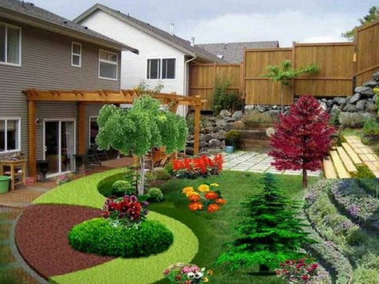 Front Yard Landscaping Ideas Beautiful House Front Yard Designs - harpmagazine-com
