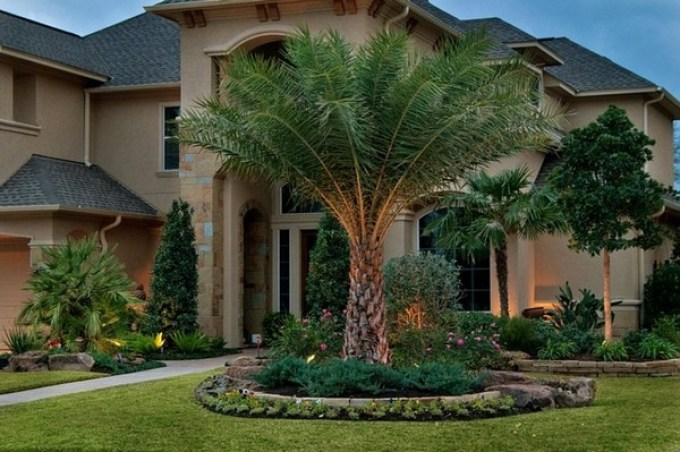 Front Yard Landscaping Ideas Tropical Front Yard Landscaping Ideas - harpmagazine-com