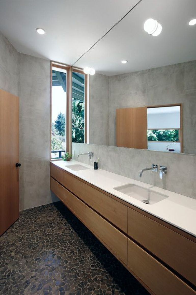 Bathroom Mirrors Ideas Big Style - harpmagazine.com