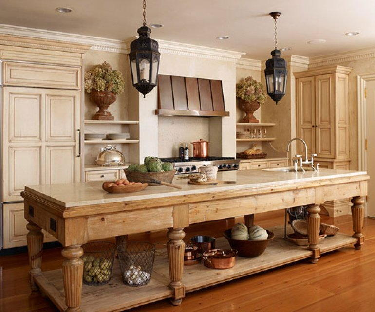 Kitchen Lighting Ideas - Vintage - harpmagazine.com