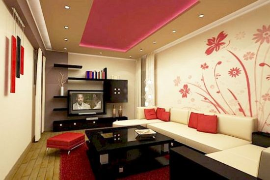 Delightful Gorgeous Accent Wall Ideas With Floral Designs B