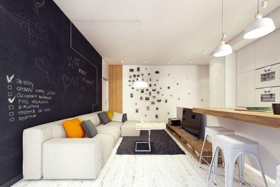 Alluring Chalkboard Accent Wall Ideas A